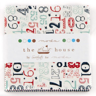 The Boat House Charm Pack by Sweetwater Fabrics