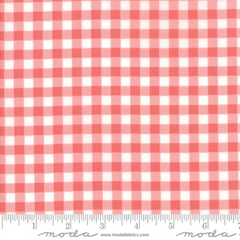 Vintage Holiday - Plaid - Pink - LAST 1 1/4 YARDS EOB