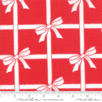Vintage Holiday - Wrapped Up - Red