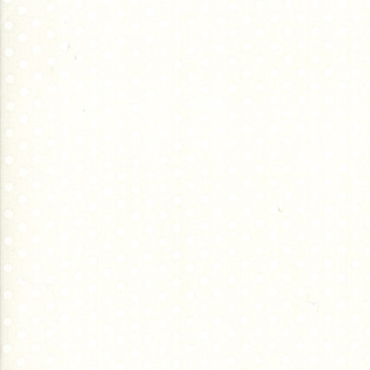 LITTLE SNIPPETS Dots in Cream (tone on tone) #55185-25