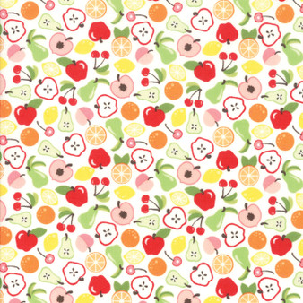 Orchard by April Rosenthal - Orchard Bounty in White #24071-11
