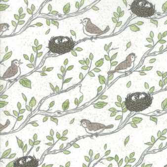 Nest by Lella Boutique - Eggshell - HALF YARD