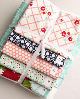 Bonnie and Camille Aqua Theme Quilt Kit