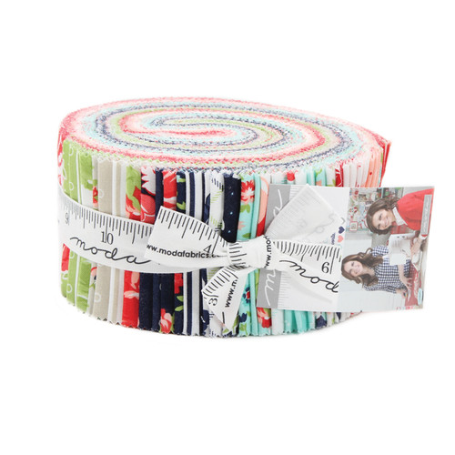 Smitten Jelly Roll by Bonnie and Camille for Moda Fabrics