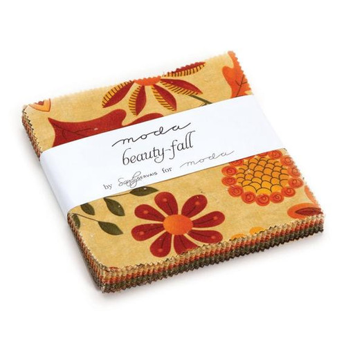 TWO (2) Beauty Fall Mini Charm Packs by Sandy Gervais #17881MC