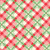 Swell Christmas Green & Red Plaid