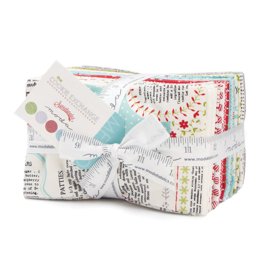 The Cookie Exchange Fat Eighth Bundle by Sweetwater Fabrics