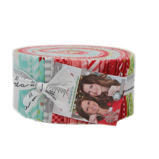 Vintage Holiday Jelly Roll by Bonnie and Camille