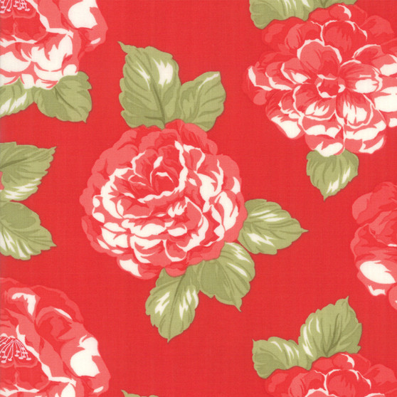 Early Bird Blooms in Red by Bonnie And Camille