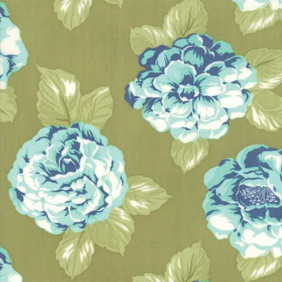 Early Bird Blooms in Green by Bonnie And Camille