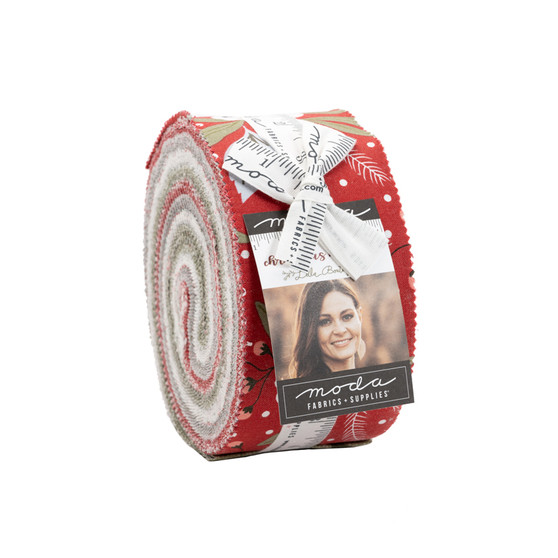 Christmas Morning Jelly Roll by Lella Boutique - Coming May 2021