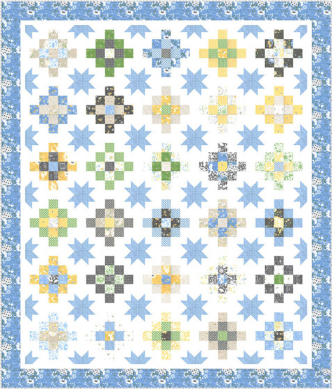 Spring Brook Quilt Kit by Corey Yoder - LAST ONE