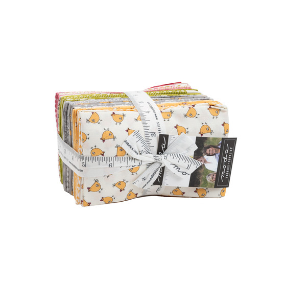 Spring Chicken Fat Eighth Bundle by Sweetwater Fabrics for Moda