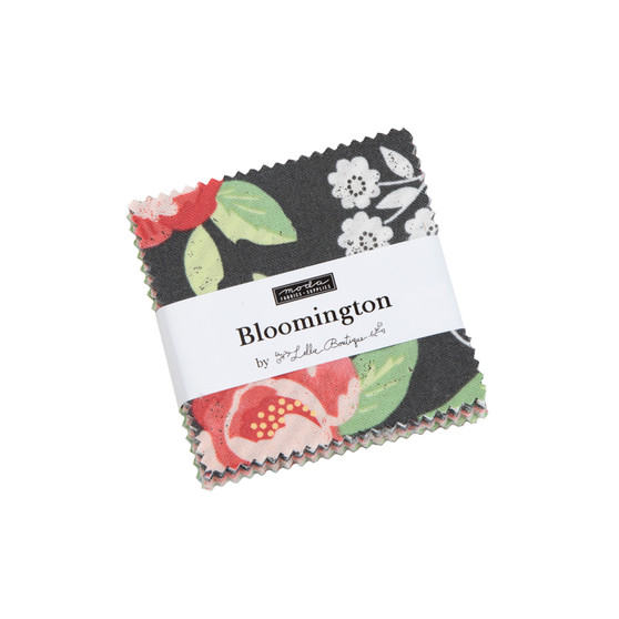 Bloomington Mini Charm Pack by Lella Boutique