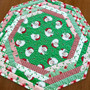PREORDER Swell Christmas Centerpiece Tablemat  Kit - Green Backing