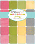 Spring Chicken - Chicken Toss on Yellow - by Sweetwater Fabrics