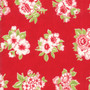 LITTLE SNIPPETS Marmalade Floral in Red #55188-11