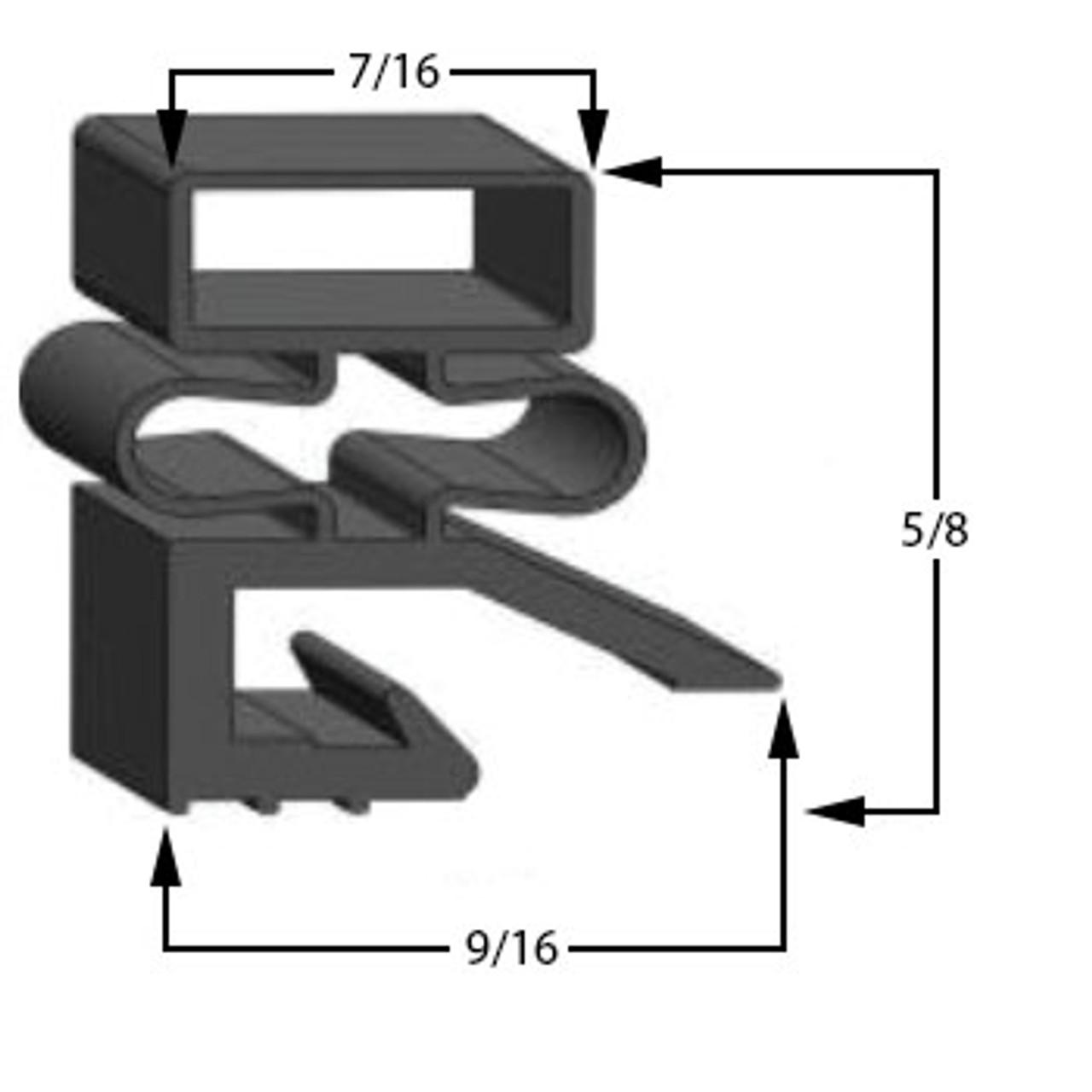 268420-18 Hobart Compatible Gasket DA2 Part#