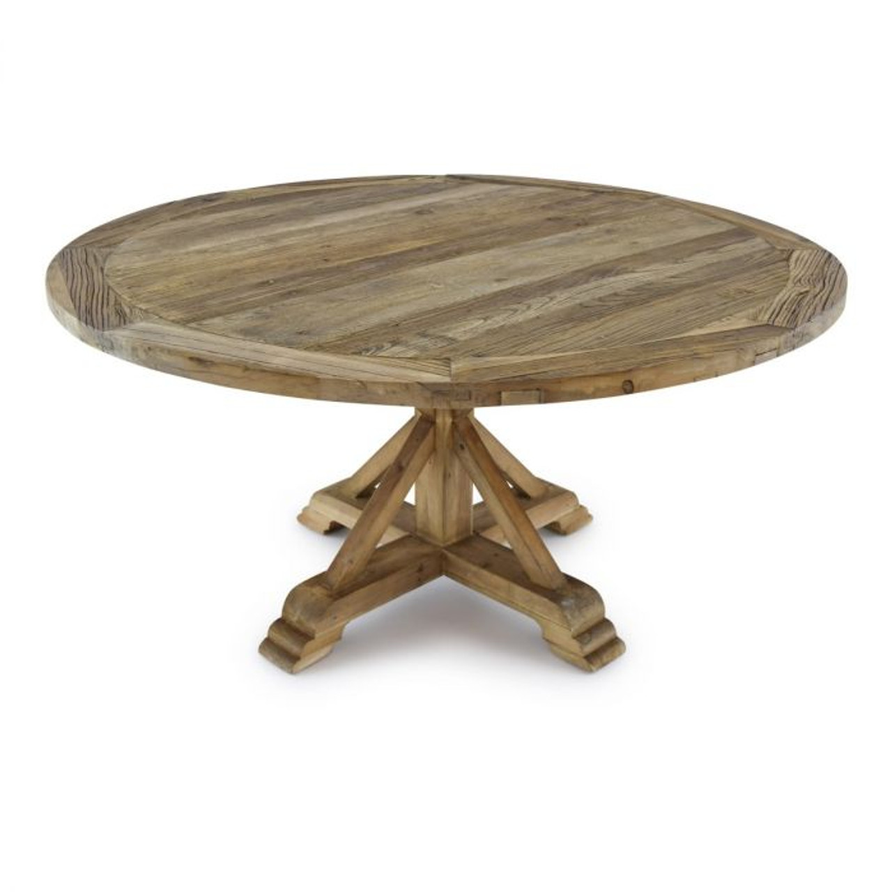 60inch Round Table.Farmhouse Rustic 60 Inch Round Table