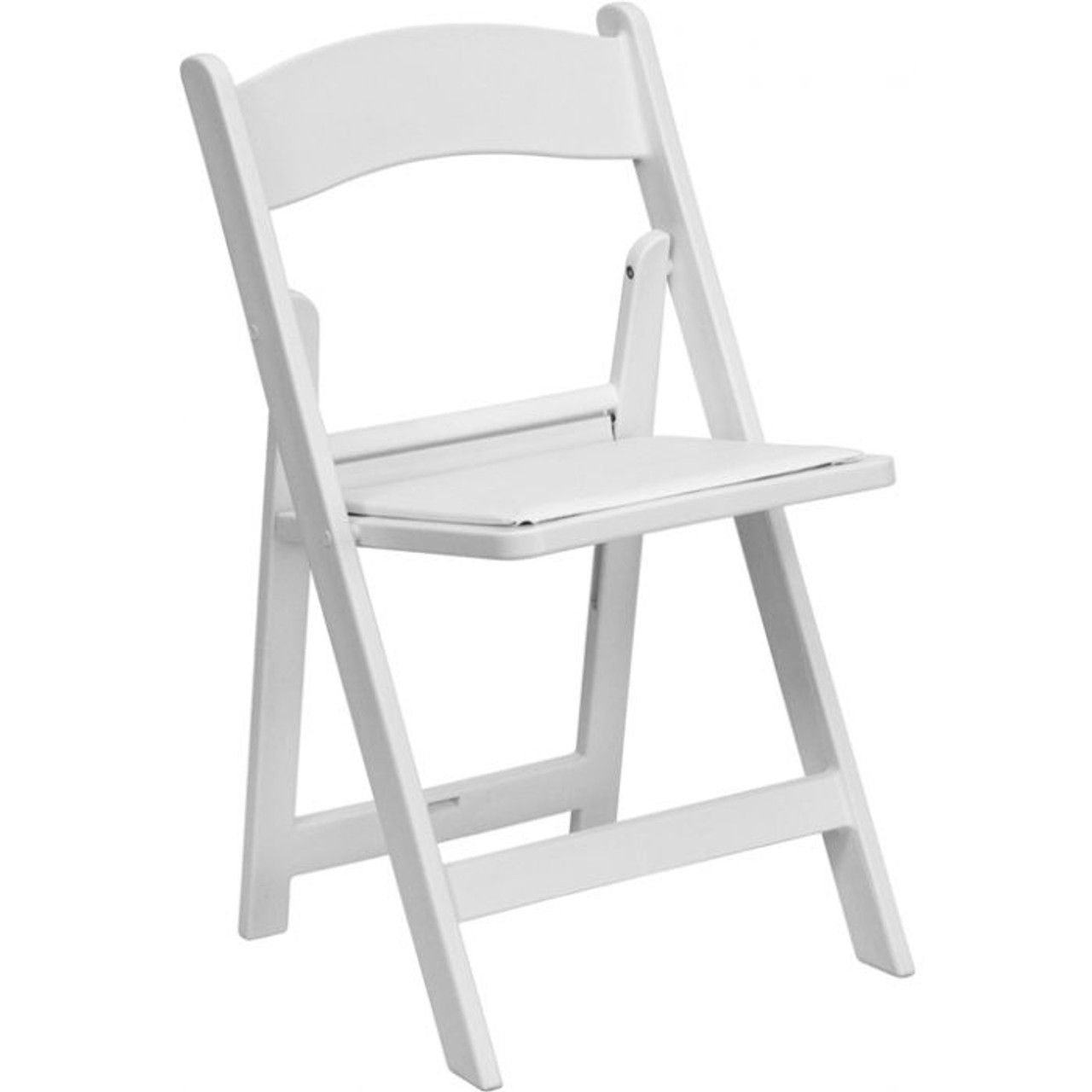 Incredible Folding Padded Chair White Resin Squirreltailoven Fun Painted Chair Ideas Images Squirreltailovenorg
