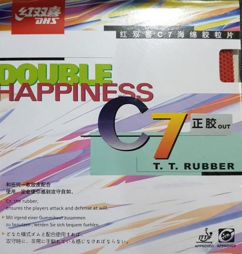 DHS C7 Long Pimples Rubber  (1.0mm)