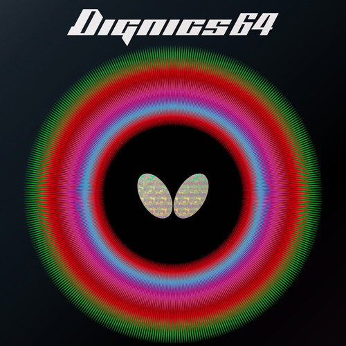 Butterfly Dignics 64 Rubber 2.1mm Black/Red