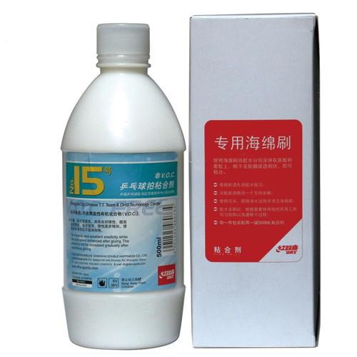 DHS NO.15 Table Tennis Racket Glue (V.O.C Free) 500ml