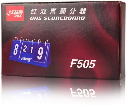 DHS F505 Portable Flip Table Tennis Scoreboard