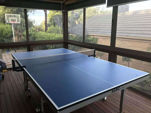 AGMC JG-22C Table Tennis Table (Upgraded Version) with Net & Post Set