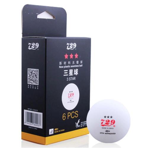 12pcs 729  40+ 3 Star Seamless Table Tennis Balls