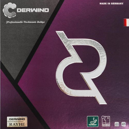 729 Derwind Rayhe Rubber 45°/2.1mm/(Black or Red)