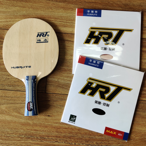 HRT Wood FL Blade +  HRT Rubbers x2