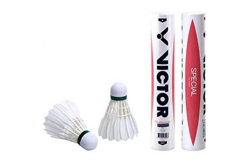 24 PCS VICTOR SPECIAL Durable Duck Feather Shuttlecock