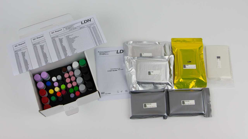 3-CAT ELISA Fast Track Kit from LDN and Rocky Mountain Diagnostics