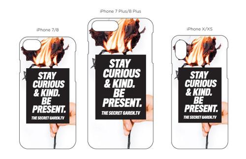 Black Rose iPhone Case