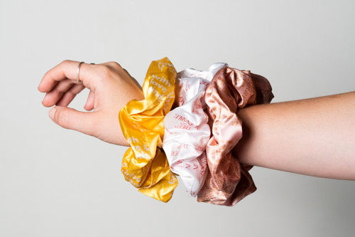 Girls with Hearts on Fire Scrunchie