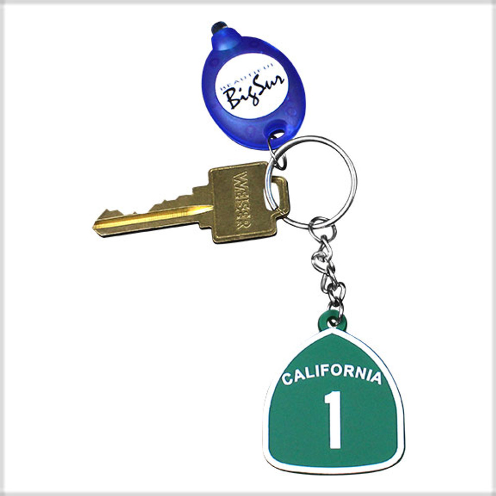 Shown with Hwy 1 keychain