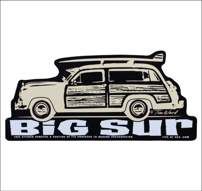 Woody style station wagon