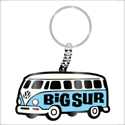 Keychain - Microbus w/ Big Sur Logo