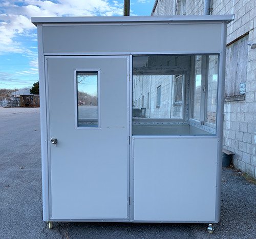 steel skinned insulated panels Guard Shack  booth 6.5x5x7.5ft