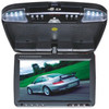 Absolute DFL4008IRG 9.5-Inch TFT-LCD Overhead Flip-Down Monitor with DVD Player and Built-in IR Transmitter (Grey)