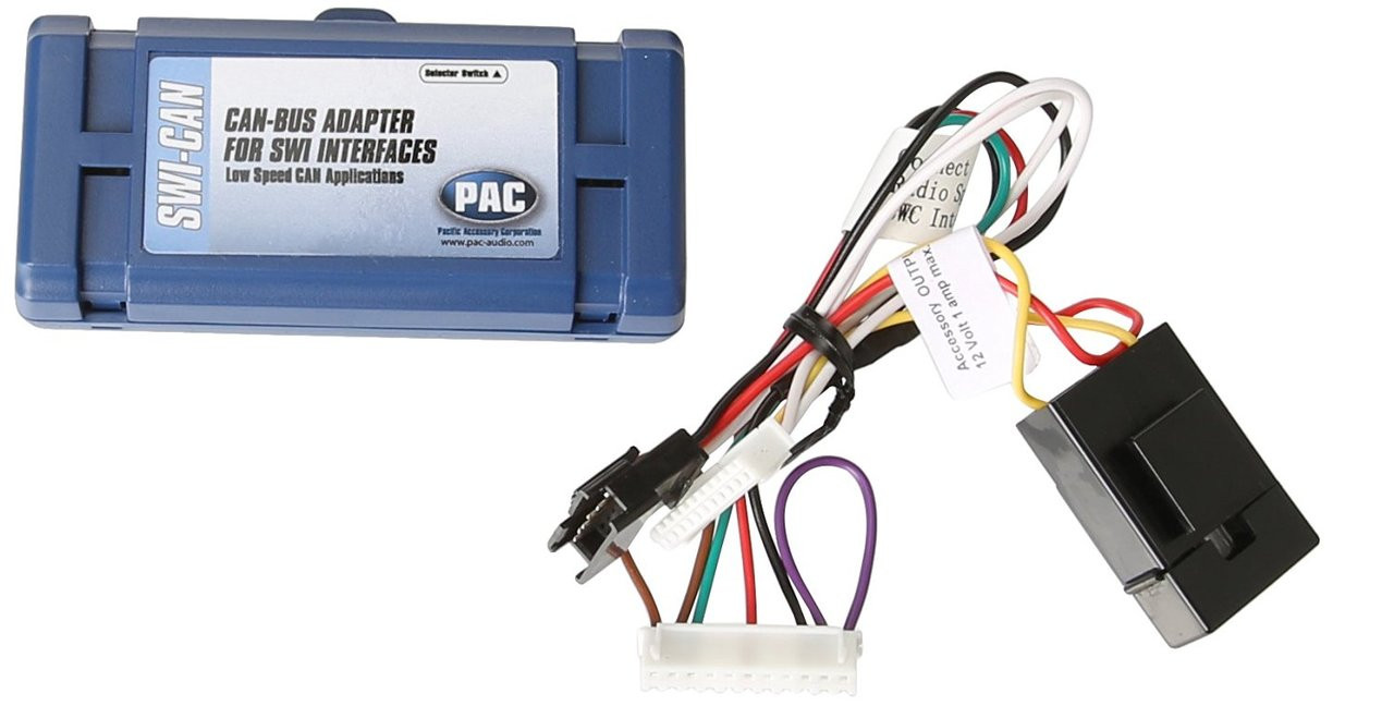 PAC SWI-CAN Steering Wheel CAN Databus Interface for use with SWI-X, SWI-ALP, SWI-PS or SWI-ECL