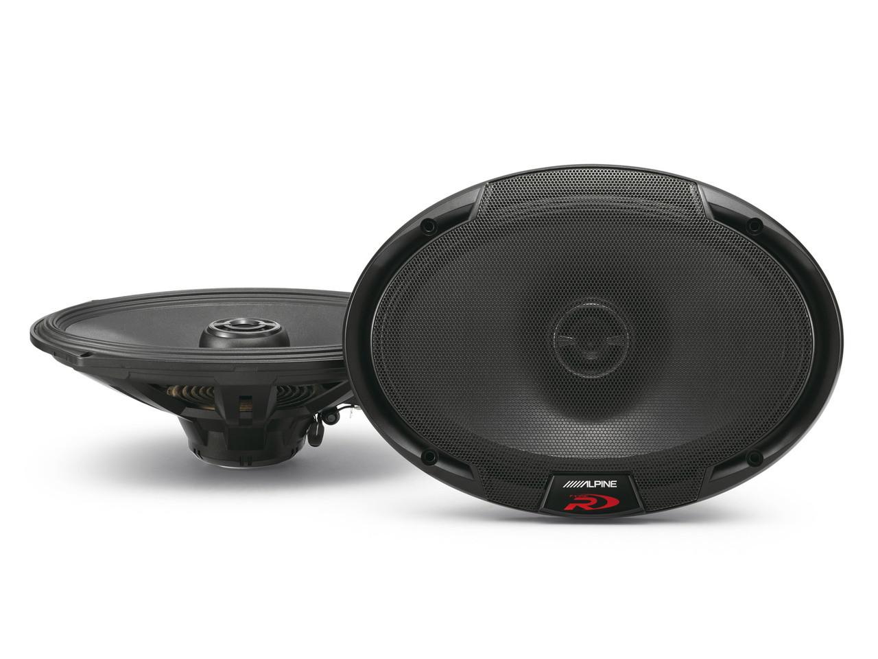 Alpine Type-R SPR-69 Coaxial Speakers