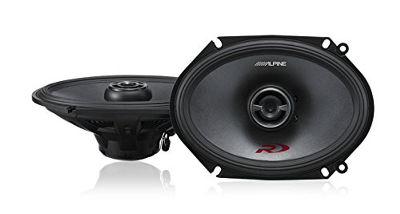 Alpine Type-R SPR-68 Coaxial Car Speaker Pair