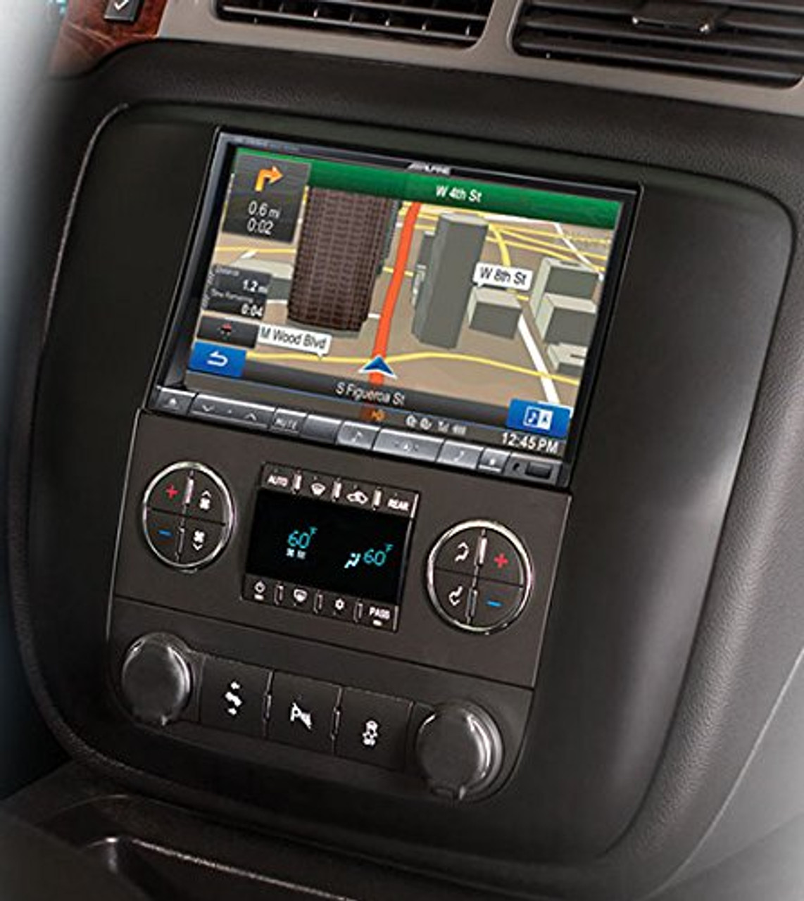 Alpine KTX-GM8-O 8-Inch Dash Kit for 2007 - 2013 Chevrolet and GMC trucks and SUVs