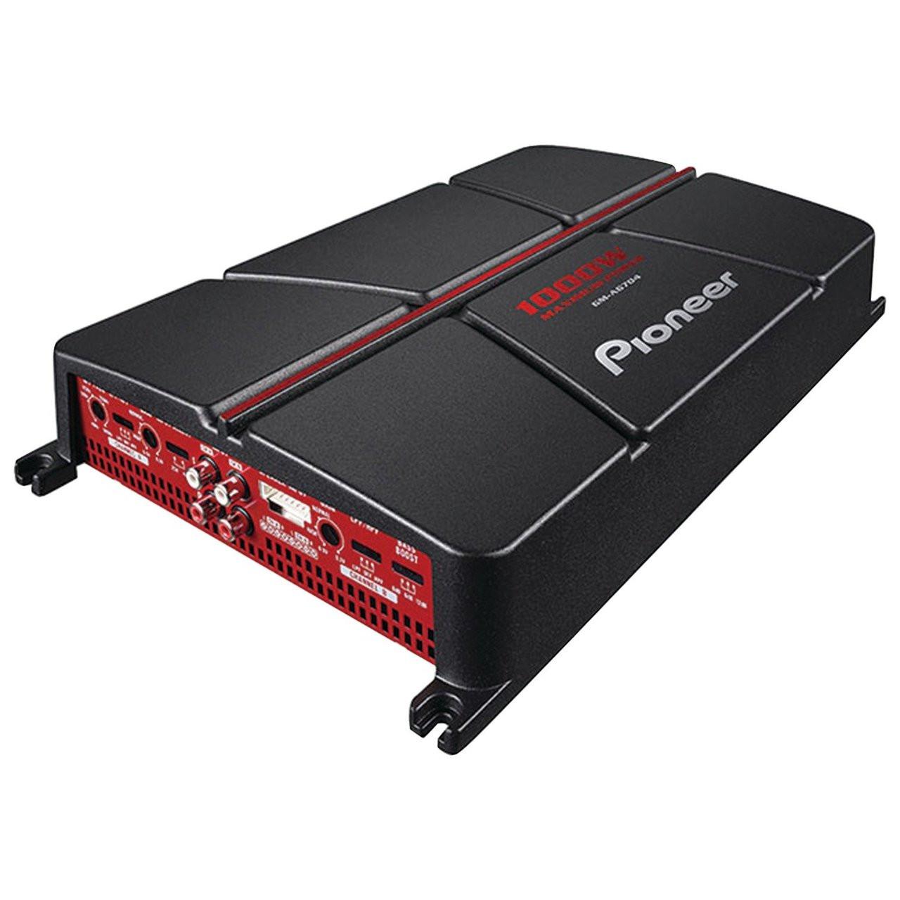 Pioneer GM-A6704 4-Channel Bridgeable Amplifier