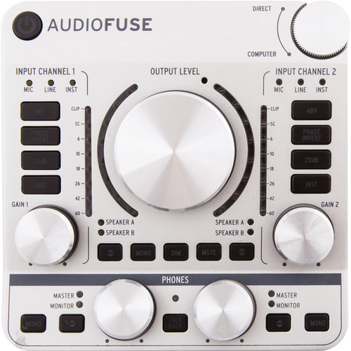 Arturia AudioFuse Silver USB Audio Interface