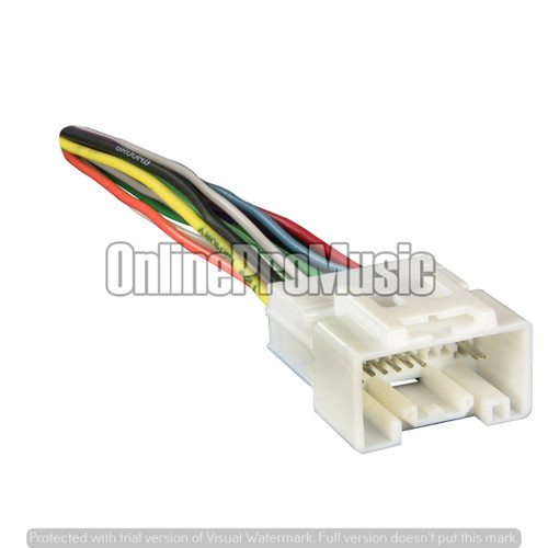 Absolute A614-7005 Radio Wiring Harness for 07 Mitsubishi