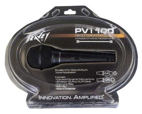 Peavey PVI 100 Dynamic Vocal Microphone with Switch