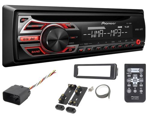 Pioneer 98-2013 Harley Touring Install Adapter FLHT Stereo Radio Dash Kit FLHX